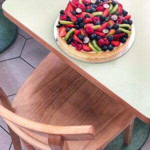 frolla con crema pasticcera e frutta